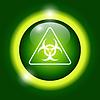 Векторный клипарт: биологической знак или значок