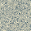 Abstract waves background, vintage hand drawn