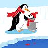 Zwei Pinguine