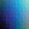 Vector clipart: Colorful navy abstract geometric low poly style