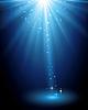 Abstrakt magische blaue Licht Hintergrund