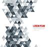 Векторный клипарт: абстрактный геометрический фон с треугольником