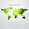 Abstrakter Hintergrund mit Weltkarte | Stock Vektrografik