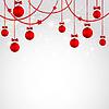 Weihnachtskarte mit Spielerei.