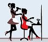 Векторный клипарт: парикмахерская