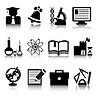 Векторный клипарт: Образовательные иконки