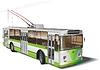 Stadt Trolleybus