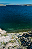 Wakacje na brzegu jeziora Bajkał | Stock Foto
