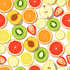 Nahtlose Muster Obst