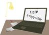 Векторный клипарт: Я копирайтер