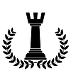 Coat of arms depicting chess rook   Stock Vector Graphics