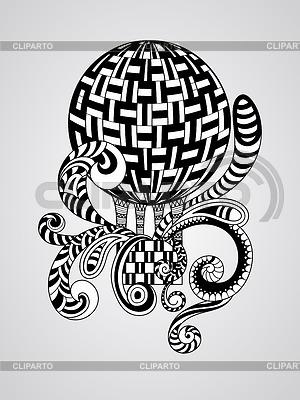 Doodle Balon | Klipart wektorowy |ID 4613219