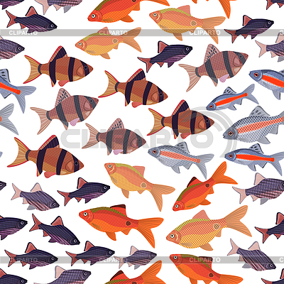 Fish nature stock photos and vektor eps clipart for Seamless fish tank