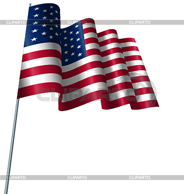 Wind   Stock Photos and Vektor EPS Clipart   CLIPARTO / 4  Waving American Flag Outline