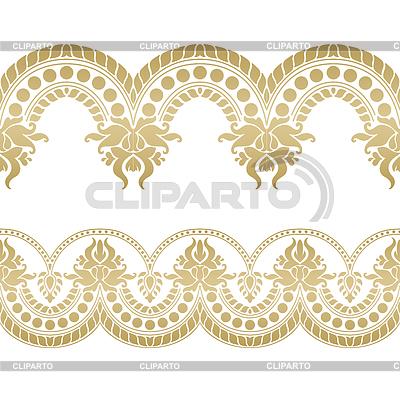 Seamless floral tiling borders | 높은 해상도 그림 |ID 5050050