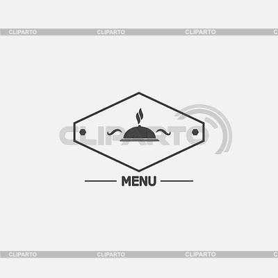 Restaurant menu icon | Klipart wektorowy |ID 4601653