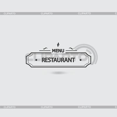 Restaurant Menü-Symbol | Stock Vektorgrafik |ID 4602134