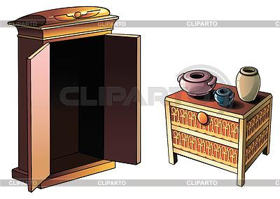 egyptian decorations stock fotos und vektorgrafiken. Black Bedroom Furniture Sets. Home Design Ideas
