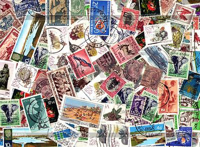Background of South African postage stamps | Foto stockowe wysokiej rozdzielczości |ID 4570025