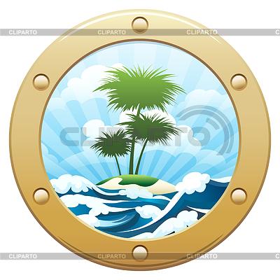 Palm Island | Klipart wektorowy |ID 4921253