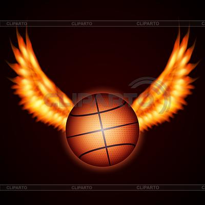 농구 공 | 벡터 클립 아트 |ID 4534459