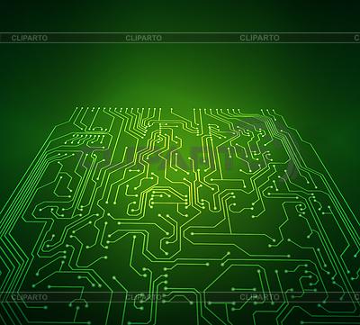 Электронная схема - Векторный