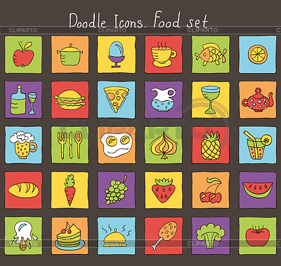 иконки продукты: