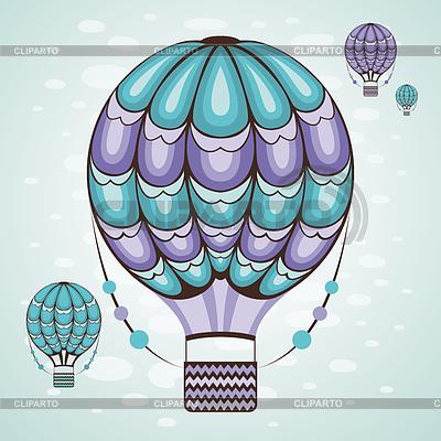 Heißluftballon | Stock Vektorgrafik |ID 4541948