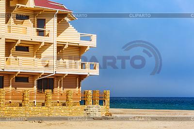 Budowa hotelu na wybrzeżu Morza Czarnego. Ukraina | Foto stockowe wysokiej rozdzielczości |ID 4644267