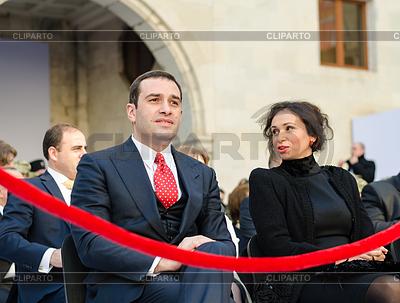 Georgian Defense Minister | Foto stockowe wysokiej rozdzielczości |ID 4690984