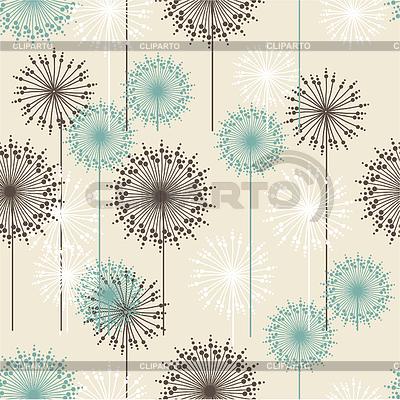 Vintage floral pattern in pastel colors | Klipart wektorowy |ID 4938314