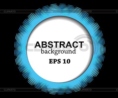 Abstrakte blaue Kreis | Illustration mit hoher Auflösung |ID 5049929