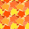 Vector clipart: Yellow seamless background stars. Design your
