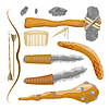 Vector clipart: Items ancient people