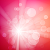 Vector clipart: Abstract bokeh sparkles on blurred background