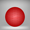 Vector clipart: Red Brick Sphere
