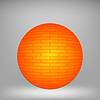 Vector clipart: Orange Sphere