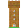 Vector clipart: Old Brick Tower