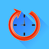 Vector clipart: Clock Icon