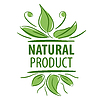 Vector clipart: Abstract logo for natural product