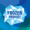 Vector clipart: logo of crystals for frozen products