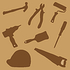 Vector clipart: Collection building tools