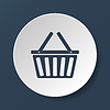 Vector clipart: Shopping basket icon