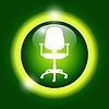 Vector clipart: Office ichair icon