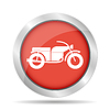 Vector clipart: motorcycle icon