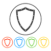Vector clipart: protection icon