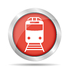 Vector clipart: Train icon