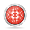 Vector clipart: chip icon