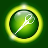 Vector clipart: Scissors icon